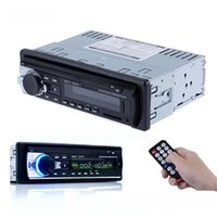 Wholesale Tv Dvd For Vehicle - DVD Bluetooth Car Radio MP3 Auto Audio Stereo In-Dash 1 Din FM Receiver Aux Input Receiver USB MMC WMA Radio Player for Vehicle