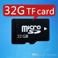 Wholesale Memory Usb 16g - TF card 32g 64G mobile phone memory card 2G 4G 16G 8G high speed Speaker camera MP4 Ipad class10 TF micro sd memory card 100% capacity gift