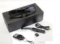 batería mini grabadora al por mayor-Control remoto Gafas cámara cambiable batería Full HD 1080P Grabadora de video digital Gafas de la cámara Gafas DVR mini videocámara mini DV