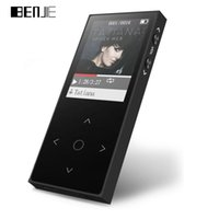 Wholesale Touch Screen Portable Mp3 - Wholesale- BENJIE X1 Touch Screen MP3 Player FLAC Music Player Portable Digital Audio Player with FM Radio Voice Recorder