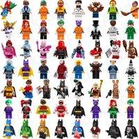 Wholesale Batgirl Figure - Bat Movie Figures Complete Set Super Heroes Minifig Batgirl Catman Joker Bat Man Super Hero Bat Movie Mini Building Blocks Figure Toys