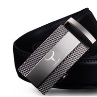 Wholesale Top Brand Belts For Men - 100% cow genuine leather belts for men 2017 top qulaity automatic alloy buckle male strap casual design original brand