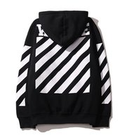 Wholesale High Collar Sweatshirt Women - 2016 Onsale Off White Hoodies Jacket Men Women High Quality Kanye West Off White Abloh Virgil Hoodie Sweatshirt Pullover Off White Hoodies