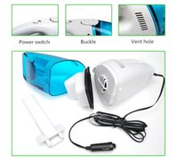 Wholesale Quality Car Vacuum Cleaners - Wholesale- 2017 High Quality 60W Super Power Car Vacuum Cleaner Universal Super Suction Vacuum Cleaner Portable Handheld Car Dust Collector