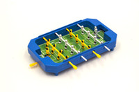 Wholesale Foosball Tables - Mini Table Football Top Foosball Board Game Home Soccer Game Set Football Toy Gift for Boys 20*3.5*12cm