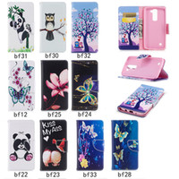 Wholesale Xperia Flip Case - Wallet Flip Case For Sony Xperia XA1 LG K7 K8 PU Leather Case Back Cover With Card Slot Phone Shell