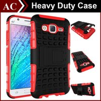 Rugged Dual Layer Hybrid Spider Kickstand Case Robot Heavy Duty Defender Stand Holder PC + TPU Tampa para Galaxy A3 A5 A7 A8 2016 S4 S5 J5 J7