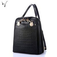 Korean Travel Fresh Zipper Madam Sacs à dos Multifonction en cuir Solid Buckle Package Softback Fresh Womens Designer Wholesale Discount Bags