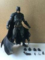 Wholesale Square Enix Figures - Square Enix Play Arts Kai Batman v Superman Dawn of Justice Bat Man Action Figure Selected Version Original Figures