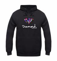 Wholesale Neck Warmers Men - Diamond supply co men hoodie women street fleece warm sweatshirt winter autumn fashion hip hop primitive pullover