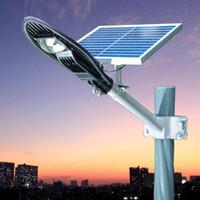 iluminación industrial usada al por mayor-Luz solar de calle integrada Exterior usando luces Iluminación LED a prueba de agua Jardín Luz al aire libre Lámpara de corredor Lámpara de jardín al aire libre