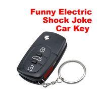 Wholesale Electric Funny Car - Funny Electric Shock Gag Joke Prank Car Key Joke Car Remote Control Funny Toys for Kids Children Gift