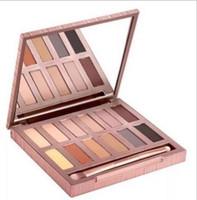 Wholesale Makeup Basics - 2017 HOT Makeup ULTIMATE BASICS Lidschatten matte Farben Matte Eye Shadow 12 Color Palette DHL free shipping