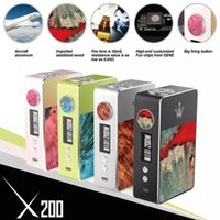 18650 stabilized power - Original Woody Vapes X200 Box Mod Output power W Dual Battery ohm Resistances Support W TC stabilized wood kanger smok