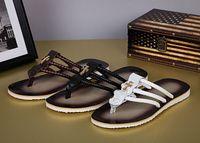 zapatillas de corcho de hombre al por mayor-2017 Hombres Sandalias de Verano Zapatos de Corcho Zapatillas Hombre Zapatos Casuales Sandalias Colores Mezclados Zapatillas de Playa Chanclas Tallas grandes 35-44
