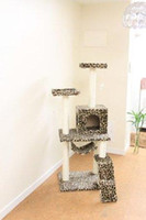 Gates & Pens outdoor cat tree - New Leopard Skin quot Cat Tree Condo Furniture Scratch Post Pet House
