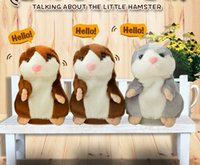 Wholesale repeating talking toy for sale - Group buy CuteTalking Hamster Talk Sound Record Repeat Stuffed Plush Animal Kids Child Toy Talking Hamster Plush Toys