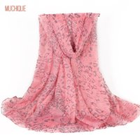 Wholesale Infinity Summer Scarves - Muchique Women Scarf Shawl Long Pink Scarf Female Infinity Scarves White Horse Wrap Summer Leopard Scarfs