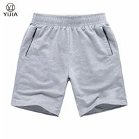 Wholesale Teenage Male Fashion - Wholesale-2016 New Arrivals Shorts Male Fashion Casual Knee-Length Knitted Short Pants Teenage Boy Jogger Trousers Plus Size M-6XL