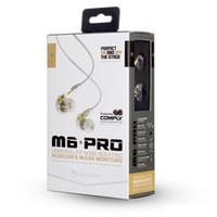 Wholesale Detachable Headphones - MEE Audio M6 PRO Noise Canceling 3.5mm HiFi In-Ear Monitors Earphones with Detachable Cables Sports Wired Headphones earbuds 3008009