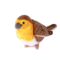 Wholesale Life Sized Stuffed Animals - Jungle Cute Animal Soft Toy Stuffed Plush Life Size Flying Bird Brinquedos Menina Toys For Children Oiseaux Artificiels 60G0227