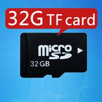 Wholesale Sd Memory Card 2g - TF card 32g 64G mobile phone memory card 2G 4G 16G 8G high speed Speaker camera MP4 Ipad class10 TF micro sd memory card 100% capacity gift
