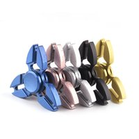 Wholesale Triangle Angle Wholesale - Crab Metal spinner Zinc Alloy EDC Hand Spinner Half-angle Triangle Fidget Spinner Crab Design Stress Reducer Fidget Toy