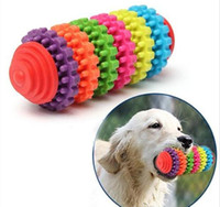 Wholesale Dental Chews - Teeth Gums Chew Gear Toy Colorful Pet Dog Puppy Dental Teething Toy Healthy Non-Toxic G425