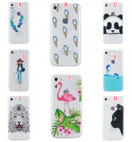 Wholesale iphone 5c covers for girls for sale – best For Iphone PLUS I7 S Plus SE S Huawei P9 Lite Honor C Y5 Y6 II Soft TPU Case Ultrathin Cartoon Girl Bird Feather Panda Skin Cover