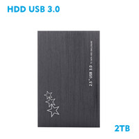 "Wholesale usb drive desktop - Wholesale- The New 2017 Hard disk 2 TB 2.5 ""3.0 Portable USB Hard Drive HDD Black External Hard drives 3 Year giant free shipping"