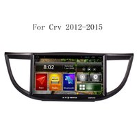 10,2 pulgadas de pantalla capacitiva Android Car DVD Player GPS para Honda CRV 2012 2013 2014 2015 con 3G WiFi bluetooth de radio