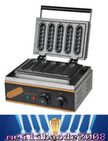 Wholesale Corn Dogs Machine - Hot Sale 110V 220V Commercial Use Electric corn dog waffle maker_lolly hot dog waffle maker machine MYY