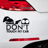 Do not Touch My Car Adesivi per auto divertenti Vinile riflettente Car Styling Marathon Runners Motorcycle impermeabile