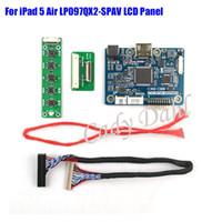 Wholesale Hdmi Board Lcd - Freeshipping HDMI LVDS Controller Board for iPad 5 Air 9.7 inches LP097QX2-SPAV 1536X2048 EDP Signal 4 Lanes 42 Pins LCD Display Panel