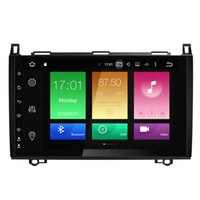 "Wholesale Vw Mobile Phone - 9"" 4+32G Android 8.0 System Auto GPS Navi Stereo For Mercedes-benz B200 printer W209 W315 W311 VW Crafter Car DVD Player BT WIFI OBD DVR RDS"
