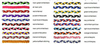 Wholesale braiding hair for sale - Yoga Hair Bands 2017 new 3 rope headband Wholesale New item Hot sale many colors triple mini braided headband for girl