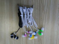 Wholesale Cheapest Quality Headphones - colorful disposable earphone Cheapest New In ear Headphone for Moible phone 3.5mm Earbud Earphone For MP3 Mp4 good quality