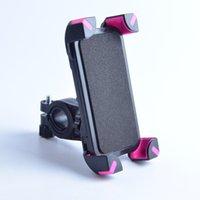 зажим велосипед руль оптовых-Универсальный велосипед Держатель телефона руль клип стенд кронштейн для iPhone 7 6 S 6 Samsung Galaxy