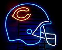 "Wholesale Bear Sign - 18""x14"" Sports Unions C-BEARs Helmet Logo Beer Bar Pub Neon Light Neon Sign"