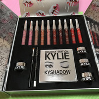 In stock Kylie Cosmetics Holiday Collection Grande scatola PREORDER INTERNATIONAL Holiday Collection grande scatola per il regalo di Natale