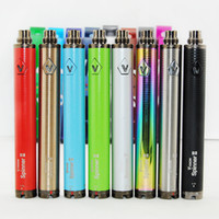 e-cigarette Vision 2 Spinner II Batterie 1650 mAh Tension Variable 510 fil batterie VS vape stylo e cig batterie ego c torsion batteries Vape Mod