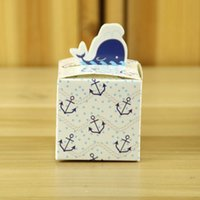 Wholesale Bottle Recycling - Decorative Gift Boxes High Quality Paper Little Dolphin And Milk Bottle European Gift Craft Beautiful Custom Gift Box For Wedding Ceremony