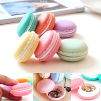 Wholesale Empty Pill Container - Colorful Macaron Portable Empty Containers Plastic Cosmetics Container Sub-bottling Pill Case Tablet Box Free Shipping ZA2141