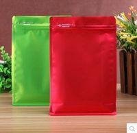 Wholesale Aluminum Foil Lock - 50pcs 16*24cm zipper aluminum foil smell proof bag zip lock reseal package bag