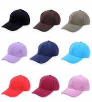 Wholesale advertising caps - Special Offer Wholesale Outdoor Baseball Cap Popular Travel Advertising Hat Colorful Fashion Snapbacks Anti Sun Caps 4 8qn