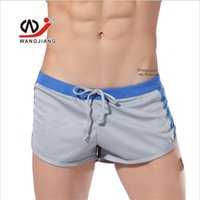 Wholesale Healthy Sexy Men - Wholesale-Brand New Summer Men Healthy Casua Short Breathable mesh Male Arrow pants Shorts Men Homewear Short Pants Sexy WJ Home Sleepwear