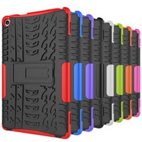 Wholesale Kindle Fire Hd Blue Case - FOR LG G Pad III 8.0 Kindle Fire HD 8 2017 Kindle Fire HD 7 2015 Dazzle Hybrid KickStand Impact Rugged Heavy Duty TPU+PC Cover Case 1PC LOT