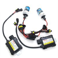 Wholesale Hid Single Bulbs - 35W HID kit H1 H3 H7 H8 H9 H10 H11 9005 9006 High Quality Slim Ballast Single Bulb