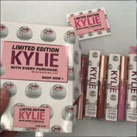 Wholesale Free Box Purchase - IN STOCK New Kylie Cosmetics Limited edition with every purchase 6 Piece Edition in Box Matte Lipstick Collection Set Free shipping