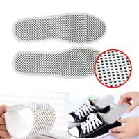 isıtmalı taban astarı ısıtma toptan satış-Cosplay için yeni Yumuşak Pamuk Kendinden Isıtmalı Turmalin Kadınlar Kış Sıcak Ayakkabı tabanlık kumaş Ekler Pedleri Ayak Bakımı Ayakkabı Astarı Ücretsiz Kargo
